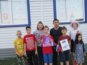 Семья Мукменова Фаиля